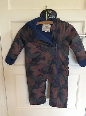 Monsoon Snowsuit winter all in one 12-18 mths