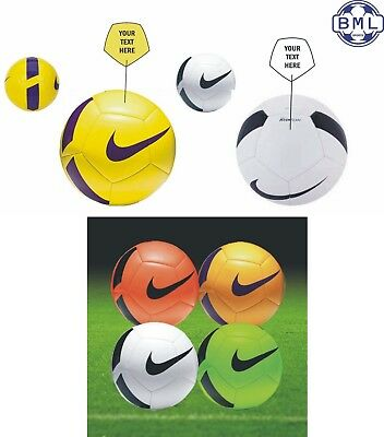 PERSONALISED NIKE TEAM PITCH FOOTBALL - send a personal message