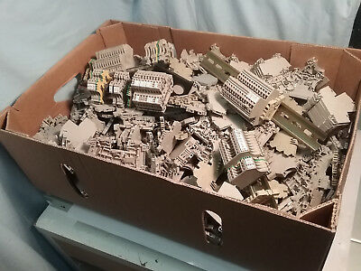 Large Quantity Of Weidmuller Terminal Blocks, Typical Contractor's Stockpile