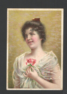 1900 Advertising Trade Card The Standard Sewing Maching Co. Cleveland Ohio