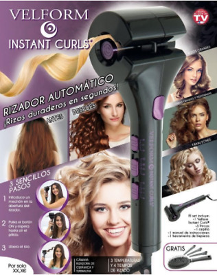 VELFORM Instant Automatic Hair Curler Professional Curling Roller Styling