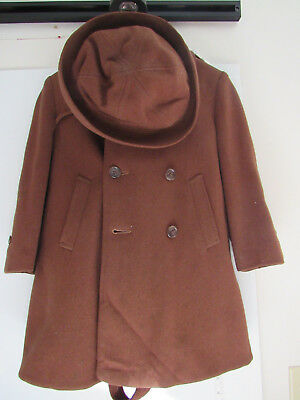 Vintage Coatcraft Coat, Hat And Pants Boys,Girls Vintage Outerwear Clothing Wool