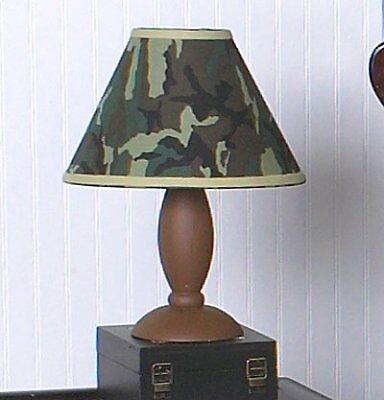 Sweet Jojo Designs Lamp Shade Green Camo Army Military Camouflage Lamps Shades
