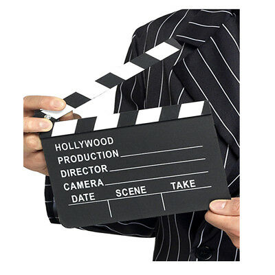 New Hollywood Style Clapper Board Hollywood  Film Party Decoration (18cmX20cm)