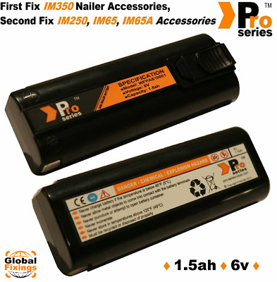 2x replacement batteries 1.5ah for paslode Cordless nailer , New type NiMH