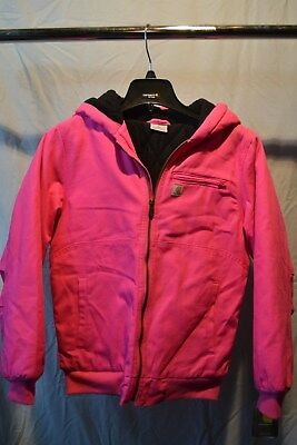 Carhartt Raspberry Rose Quilted Lined Jacket Girls NWT Fast Shipping