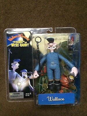 Wallace & Gromit ' The Curse Of The Were- Rabbit ' Wallace' NIB