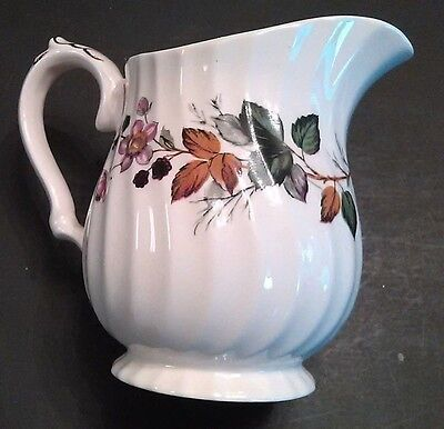 Myott Staffordshire Creamer in Hedgerow Pattern - Free Shipping!