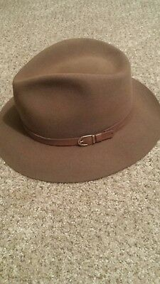 Vintage Stetson fedora men's brown felt 7 3/8 us
