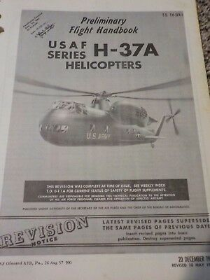 REVISIONS ONLY Preliminary Flight Handbook US Air Force Series Helicopters