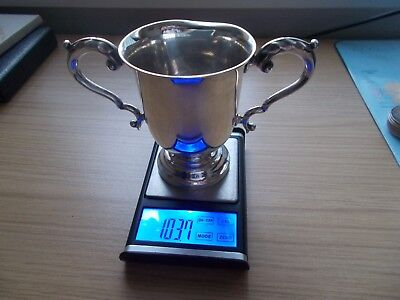 STERLING SILVER CUP TROPHY - Not scrap