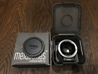 Metabones EF-BMPCC T Speed Booster Adapter in Mint Condition