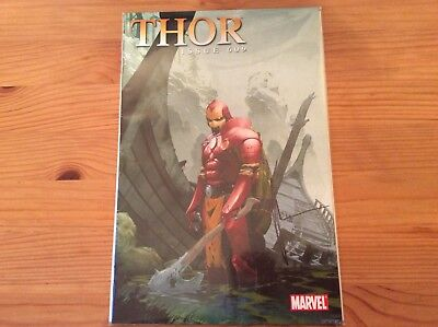 Thor # 609 First Print Iron Man Variant Marvel Signed No Coa