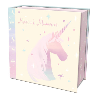 Punch Studio E8 Lady Jayne Baby Girl First Keepsake Box – Magical Unicorn 84072