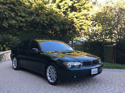 2004 BMW 7-Series PRISTINE Sport Ed. 745i NO RESERVE Only 51k MILES! IMMACULATE 2004 BMW 745i NO RESERVE Only 51k Miles Sport Ed. XCLNT Loaded