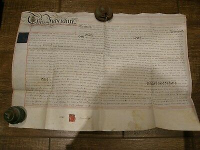English Vellum 1811 Parchment Lease For A Year