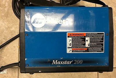 USED Miller Maxstar 200 SD Welder-220 Connection-Fast, Free Shipping!!!