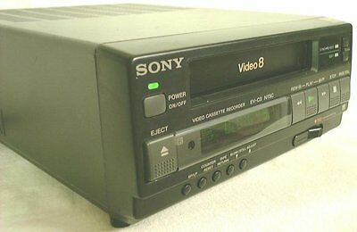 Sony EV-C3 Video8 8mm Video 8 Player Recorder VCR Deck EX
