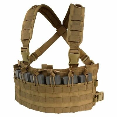 Condor Rapid Assault Chest Rig coyote brown