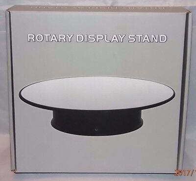 Large Rotary Display - Approx 10 Inch 25.4Cm Mirrored Surface