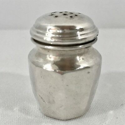 Sterling Silver Individual Salt and Pepper Shaker - 8 grams - Scrap or Use