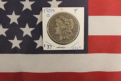 1894-O Morgan Silver Dollar - Fine Condition (Z329)