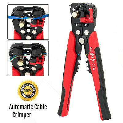 Self Adjustable Automatic Cable Wire Cutter Stripper Crimping Crimper Plier Tool