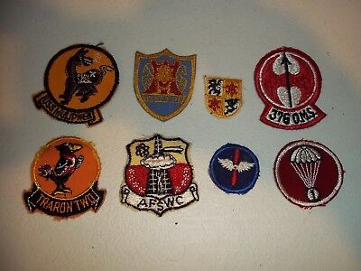 Wwi Wwii Korean War Vietnam Us Army Patch Lot #167