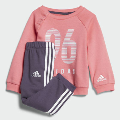 New Adidas Crew Terry Jogger Girls Infant Size  3-4 Years CW3831