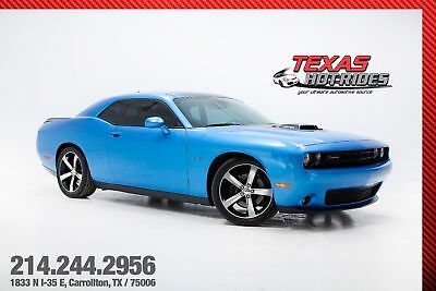 2016 Dodge Challenger R/T Shaker With Super Track Pack 2016 Dodge Challenger R/T Shaker in B5 Blue 5.7L Hemi V8 Automatic