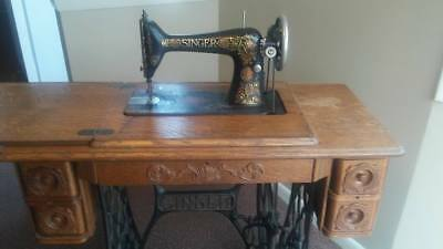 1918 Singer Treadle Sewing Machine