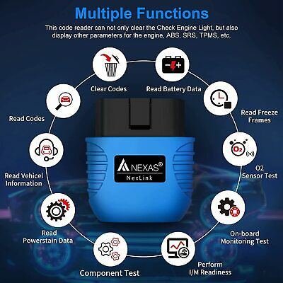 12V Car Battery Tester Starting Cranking BST200 Auto Diagnostic Scan Test Tool