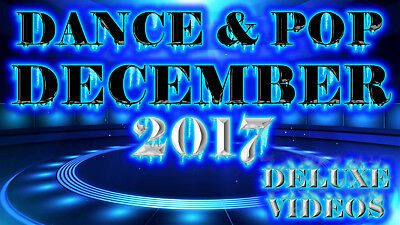 Music Videos DECEMBER 2017 of DANCE & POP (2 DVD's) 47 Videos Happy New Years!