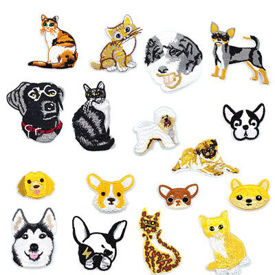 Cartoon Animal Embroidered Iron On Patch Garment Accessories Clothes Decoration