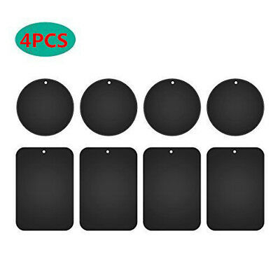 Replacement Metal Rectangular Round Plate Magnet Sticker For Phone Holder Mount