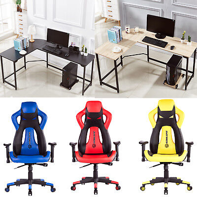 High Back Racing Recliner Office Chair Racing Car Style Bucket Seat Gaming Chair