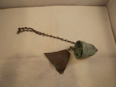 Small Paolo Soleri Bronze Wind Chime, Pre-Owned