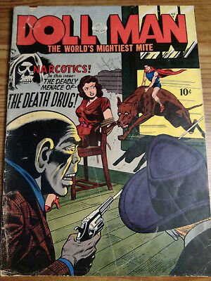 doll man # 39 rare book.Key issue,Narcotics the death drug.