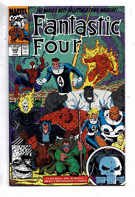 Fantastic Four #349(F+) and #355(F-VF), Marvel, 1991