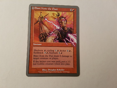 blast from the past  ~  Unhinged  ~ Excellent ~ Magic The Gathering
