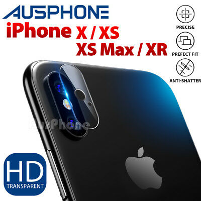 iPhone X 8 /8 Plus Camera Lens 9H Tempered Glass Film Screen Protector For Apple