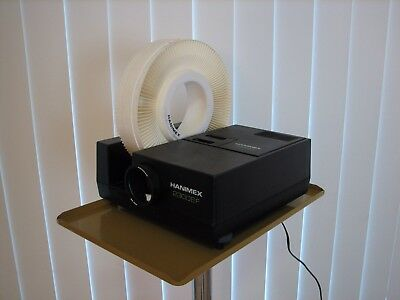 Vintage Hanimex 35 mm Slide Projector with Stand