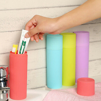 Travel Camping Portable Toothbrush Toothpaste Case Cover Box Cup Storage Holder