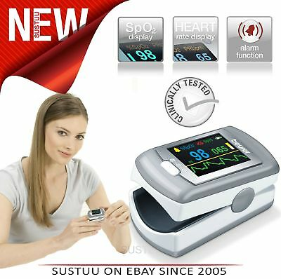 Beurer PO80 Pulse Oximeter│Arterial Oxygen Saturation│Heart Rate│Pain Free Count