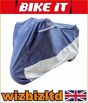 Deluxe Polyester Ventilated Motorcycle Raincover KTM 125 Duke 2011 RCODEL01