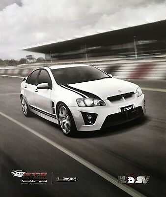 Holden HSV Limited Edition 40th Anniversary GTS and SV08