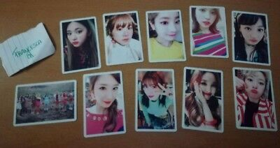 TWICE signal first press limited edition cards