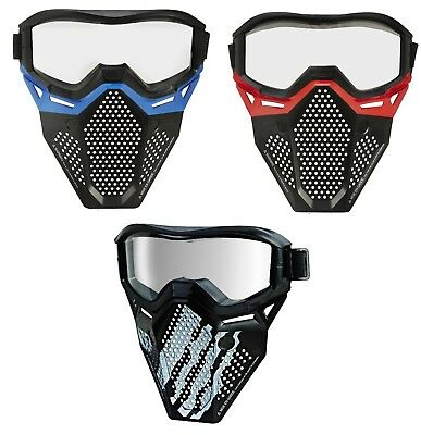 Nerf Rival Face Mask Blue Red Phantom
