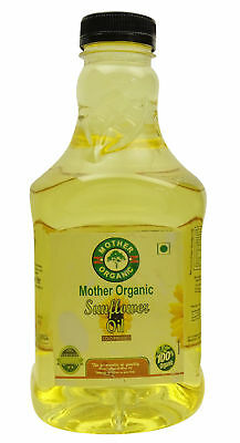 Mother Organic Chemical Free Sunflower Cooking Oil - USDA Certified