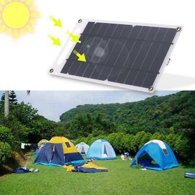 7.8W 6V 1300mA Monocrystalline Silicon Solar Panel Charger USB IP65 Outdoor Q0R7